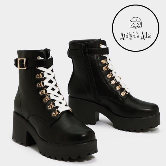 Nasty Gal Shoes - 🖤 CHUNKY HEEL BOOT 🖤
